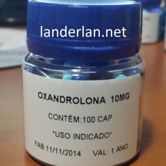 Oxandrolona manipulada 10mg