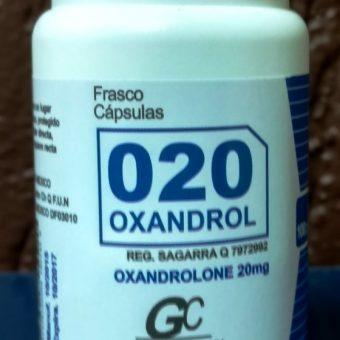 Oxandrolona manipulada 20mg