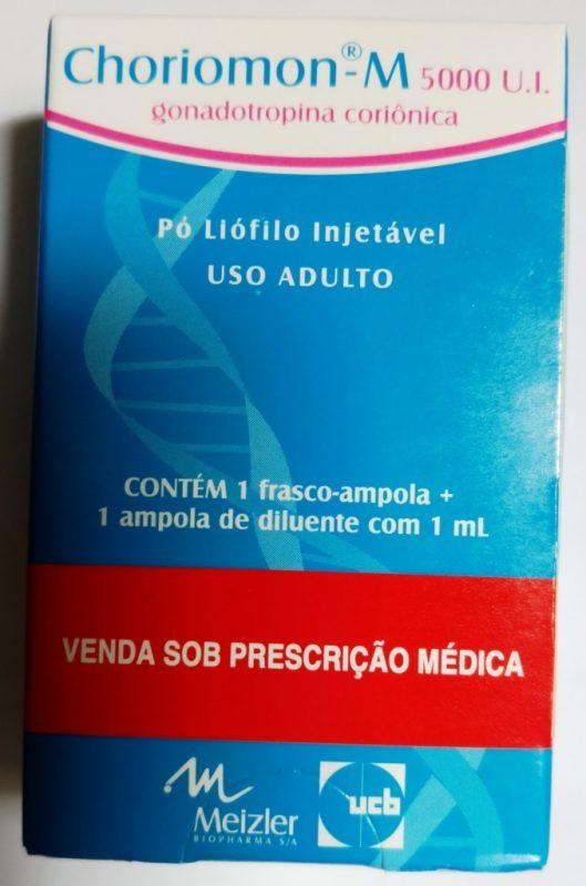 HCG Choriomom M 5000UI