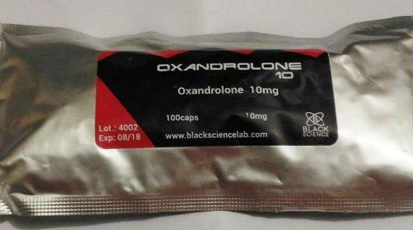 oxandrolona 10mg black science