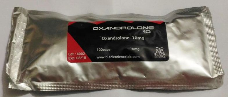 oxandrolona 10mg black science