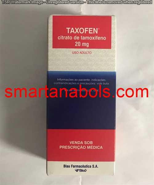 Tamoxifeno 20mg Blau