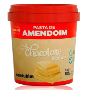 Pasta de Amendoim com Chocolate Branco 1,02kg