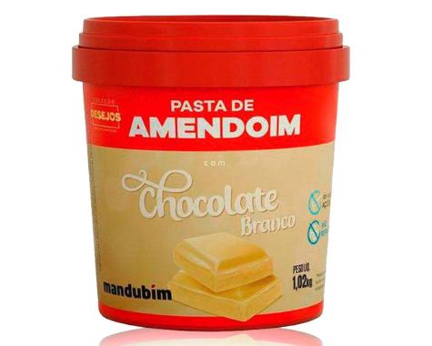 Pasta de Amendoim com Chocolate Branco 1,02kg
